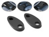 Rear Rail Block Off Indicator Turn Signal Adapter Plates for Harley Davidsons