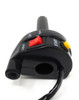Quick Action Throttle with Kill Switch & Starter Button for 22mm Handlebars