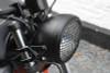 "5.75"" Inch Mesh Grill Motorbike Headlight Cover - Matt Black for Scrambler & Cafe Racer Projects"