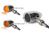 Custom Motorbike LED Indicators with Running Lights for Retro Harley Davidsons