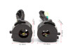 "Motorbike Switchgear Control Kit - Alloy for 22mm 7/8"" Handlebars for Project Custom Retro Bike"