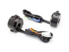 "Motorbike Switchgear Control Kit - Alloy for 22mm 7/8"" Handlebars for Project Custom Retro Bike"