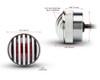 Motorbike, Car LED Mini Stoplight & Tail Light - Prison Grill - Pick Up, 4x4, Van - Chrome