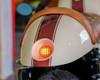 Motorbike, Car LED Mini Stoplight & Tail Light - Prison Grill - Pick Up, 4x4, Van - Brass