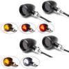 Motorbike LED Indicators Front & Rear with Driving Light DRL, Stoplight and Taillight - Integrated - CNC Billet Aluminium