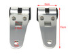 Motorbike Headlight Brackets for 27mm to 39mm Forks - No Fork Removal Required