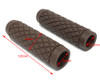 """Brown Diamond Hand Grips - Soft Touch for 22mm (7/8"""") Handlebars"""