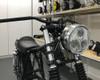"LED Headlight - 6 3/4"" CHROME Metal for Retro Custom Project Special"