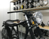 """7.5"""" Headlight 55W Homologated in Chrome for Retro Cafe Racer Project"""