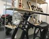 "Chrome 7.5"" Headlight 55W - Shallow - Homologated for Retro Project Bike"