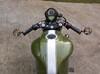 "Motorbike Bar End Mirrors Black Aluminium for 22mm (7/8"") Handlebars"