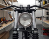 """5"""" Motorcycle Shallow Headlight 12V 55W in Chrome for Project Custom Bike"""