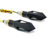 LED Indicators Sequential Sweeping for Streetfighters & Scramblers - HOMOLOGATED - PAIR