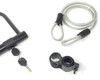 Bicycle D Lock Bike 1.2M Two Keys U Shaped Heavy Duty Cable Frame Bracket Clamp