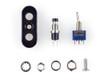 "Motorbike Billet Switchgear for 7/8"" & 1"" Handlebars 1 x On/Off 1 x Momentary"