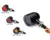 Motorbike LED Indicators Stop Tail Lights Integrated for Custom Chopper PAIR