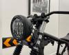 """Motorbike Headlight LED 7.7"""" Projector Matt Black for Cafe Racer Retro Custom"""