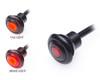Micro LED Stop Tail Light Run Lamp Flush Mount - Waterproof