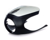 Motorcycle Fairing Cowl Clear Screen Mask for Classic Retro Cafe Racer Project