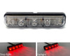 LED Stop Tail Light Running Small Micro Smoked Lens Discreet E-MARKED