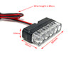 LED Stop Brake Light Supplementary Safety Mini Micro Slim HOMOLOGATED