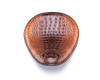 Bobber Seat Saddle for Harley Davidson Sportster Dyna Alligator Skin Pattern