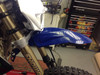 BLUE Universal Motorcycle Motorbike Mudguard for Supermoto Enduro Dirt Bike