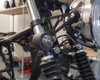 Classic Black Metal Motorbike Indicators for Cafe Racer Project