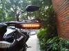 Black Handguards with inbuilt Indicators for Motorcycle Motorbike Quad Bike