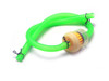 Green Silicone 4mm Diameter Fuel Line Pipe With Fuel Filter For Motorcycles Motorbikes