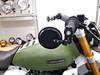 "Motorbike Round 3"" Mirrors for 7/8"" 22mm Handlebars Foldable - PAIR"