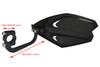 Universal Pair of Black Handguards / Wind Deflectors / Wind Protectors for Motorcycle Motorbike