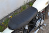 Motorbike Seat for Scrambler Yard Build with Ribbed Look