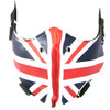 Union Jack Union Flag Motorcyclist Bike Riders Bikers Face Mask - PU Synthetic Leather