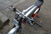 """Streetfighter Motorbike Drag Bars Handlebars - 22mm 7/8"""" - Chrome"""
