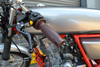 "Quailty Brown Barrel Style 7/8"" 22mm Handgrips Cafe Racers & Street Scramblers"