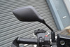 Pair of Universal 10mm Motorcycle Motorbike Bike Rear View Side Mirrors Black