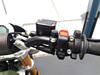 Pair of Billet Aluminium M10 Threaded Motorcycle Motorbike Mirror Blanking Plugs