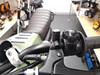Pair of Billet Aluminium M8 Threaded Motorbike Scooter Mirror Blanking Plugs - CLOCKWISE THREAD ONLY