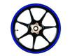 Heavy Duty Reflective BLUE 600cm Strip Decal Sticker Car Motorbike Quad Trike Wheels Bodywork Fuel Tank
