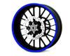 Heavy Duty BLUE 600cm Strip Decal Sticker Car Motorbike Quad Trike Wheels Bodywork Fuel Tank