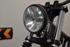 "BLACK 5.75"" Bates Style Classic Custom 12V 55W Motorbike Motorcycle Trike Headlight"