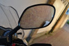 PAIR of Very Good Quality Motorbike Motorcycle Side Rear View LARGE M10 Glass Mirrors