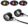 Black CNC Billet Ally Integrated LED Motorbike Stop Tail Lights and Indicators