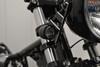 Black CNC Billet Ally Integrated LED Motorbike Driving Lights DRL and Indicators