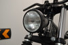 "4.5"" Vintage Style Custom Retro Motorbike Motorcycle Matt Black Headlight"