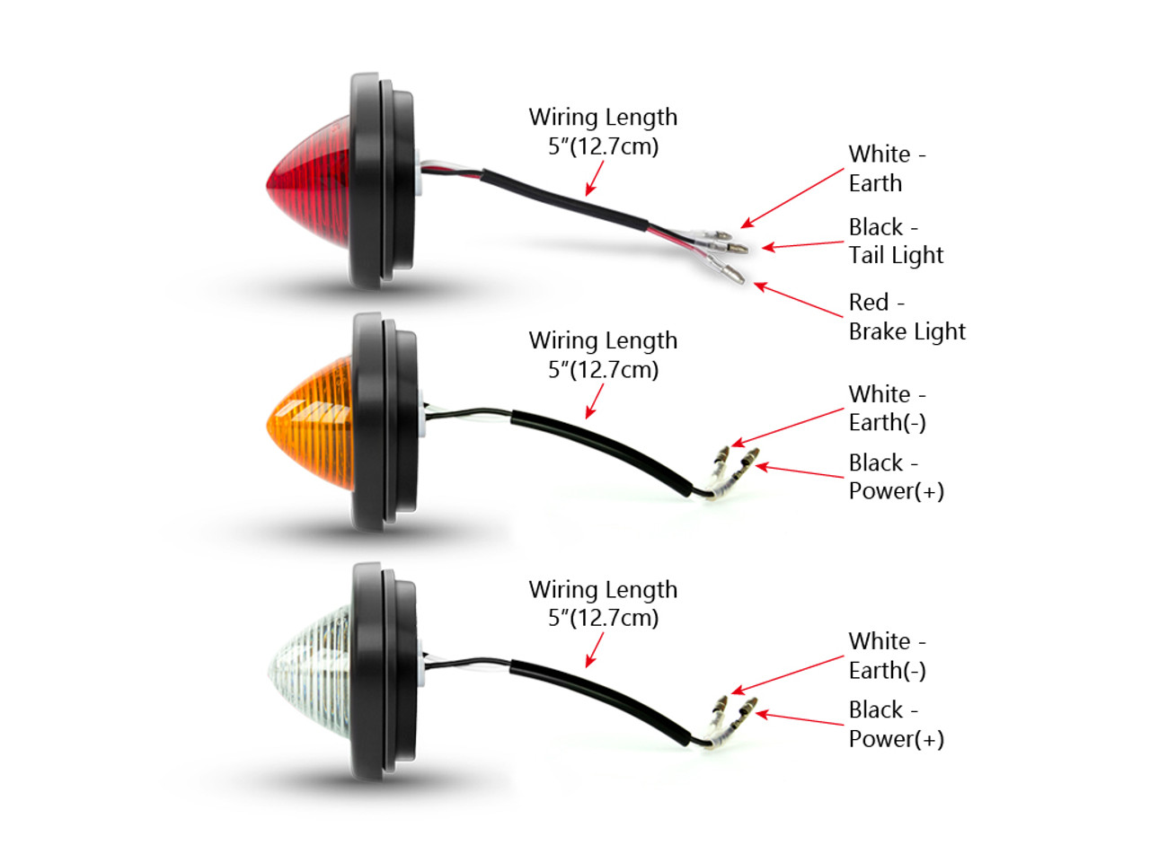 Project Car Led Stop Taillights Indicators Turn Signals Reverse Tail Light Wiring Diagram Lights