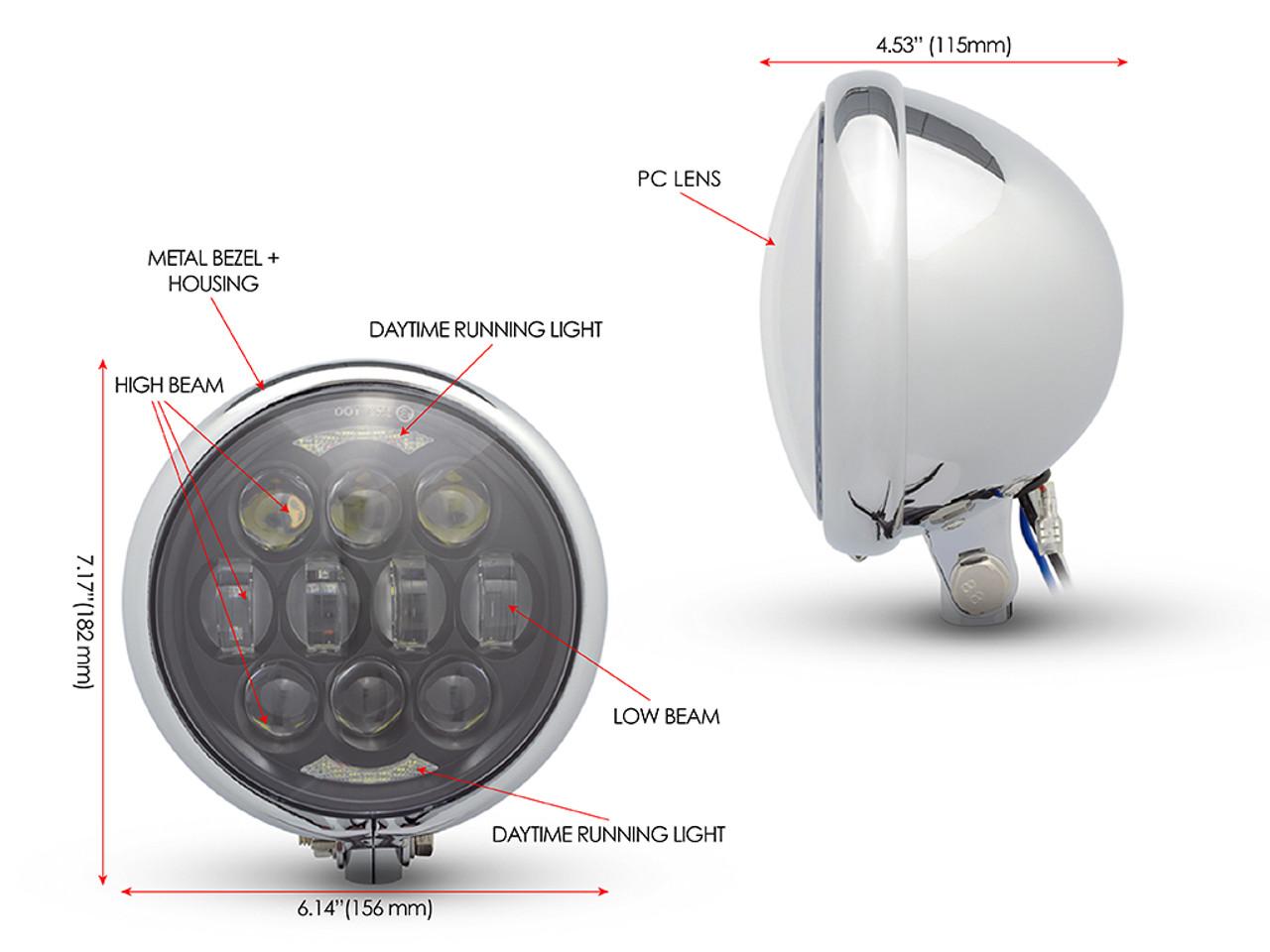 Pleasant Bates Headlight Wiring Diagram General Wiring Diagram Data Wiring Digital Resources Minagakbiperorg