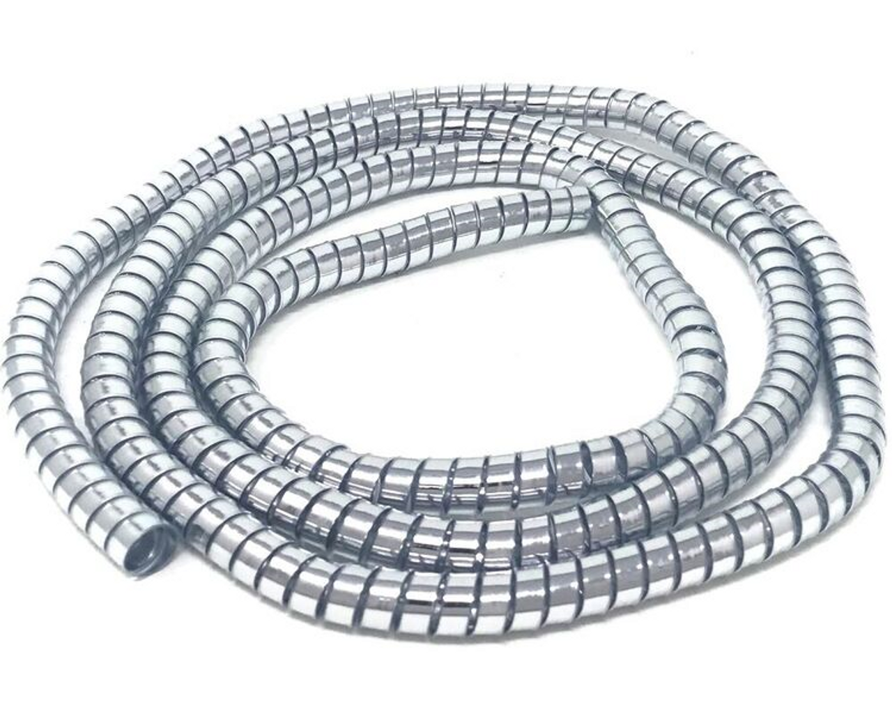 Spiral Wire | Motorbike Trike Cable Cover Custom Chrome Thick Spiral Wire Wrap
