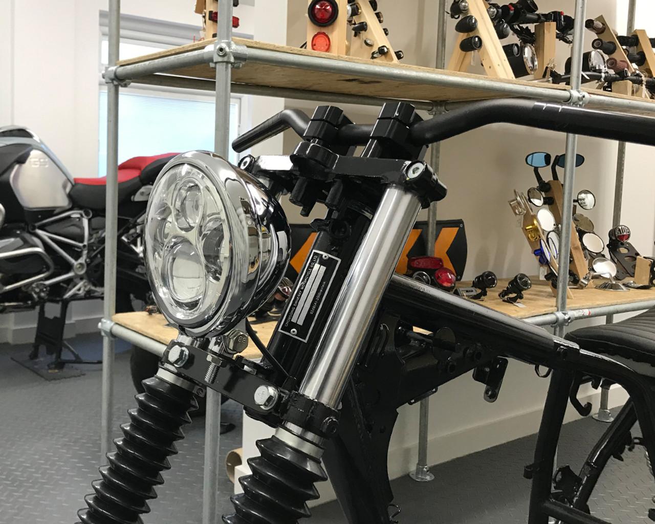 11/ 14 Specific mg1127/Mudguard in ABS black Kappa kmg6401/Triumph Tiger 800//Tiger 800/XC